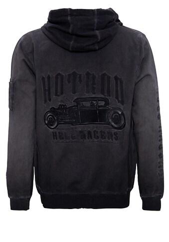 KingKerosin Sweatjacke »Hell Racers«, mit Stickerei hinten kaufen