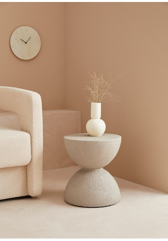 LeGer Home by Lena Gercke Beistelltisch »Amica«, in Betonoptik, Kegelform kaufen