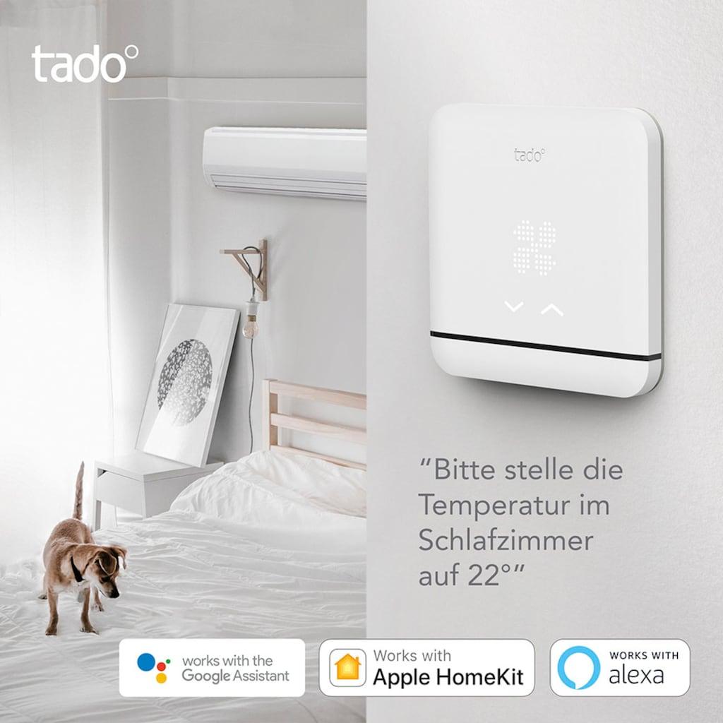 Tado Smartes Heizkörperthermostat »Smartes Heizkörperthermostat Smarte Klimaanlagen-Steuerung V3+/ SACC V3+«