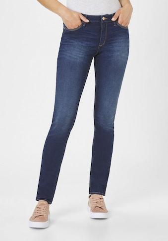 Paddock's 5-Pocket-Jeans »LUCI«, Röhrenjeans mit Soft Denim kaufen