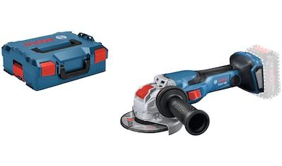 Bosch Professional Akku-Winkelschleifer »GWX 18V-15 C 125mm (L) solo CLC«, ohne Akku... kaufen