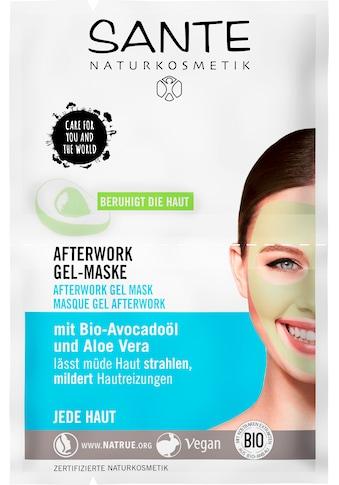 SANTE Gesichtsmaske »Afterwork Gel-Maske« kaufen