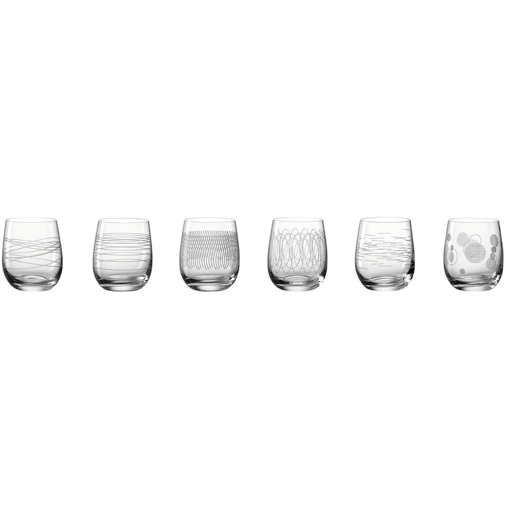 LEONARDO Gläser-Set »Casella«, (Set, 6 tlg.), 360 ml, 6-teilig