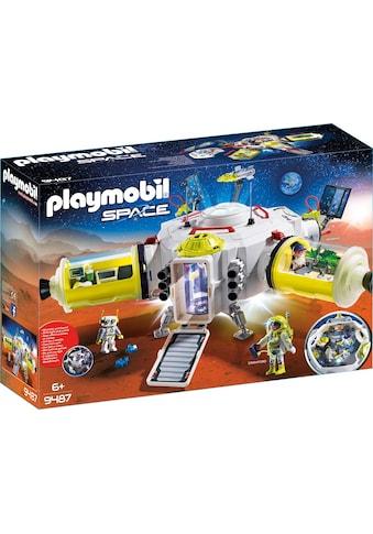 Playmobil® Konstruktions-Spielset »Mars-Station (9487), Space«, mit vielfältigen... kaufen