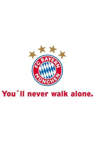 Wall-Art Wandtattoo »Fußball You'll never walk alone« kaufen