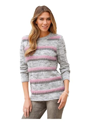 Classic Basics Pullover im modischem Maschen - Mix kaufen