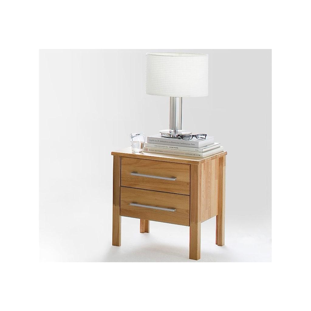 Home affaire Schlafzimmer-Set »Modesty I«, (Set, 3 St.), bestehend aus Bett 90 cm, 2-türigem Kleiderschrank und 1 Nachttisch