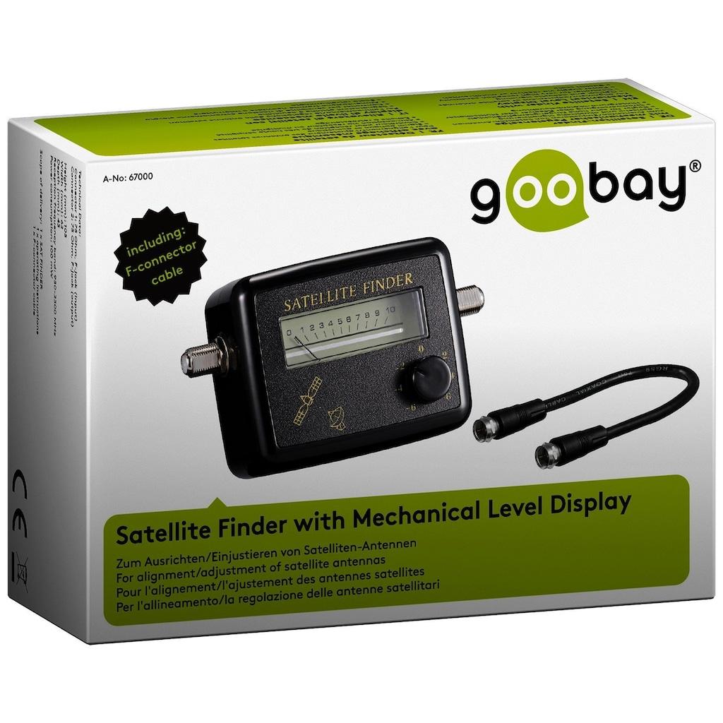 Goobay Satelliten-Finder mit mechanischer Pegelanzeige