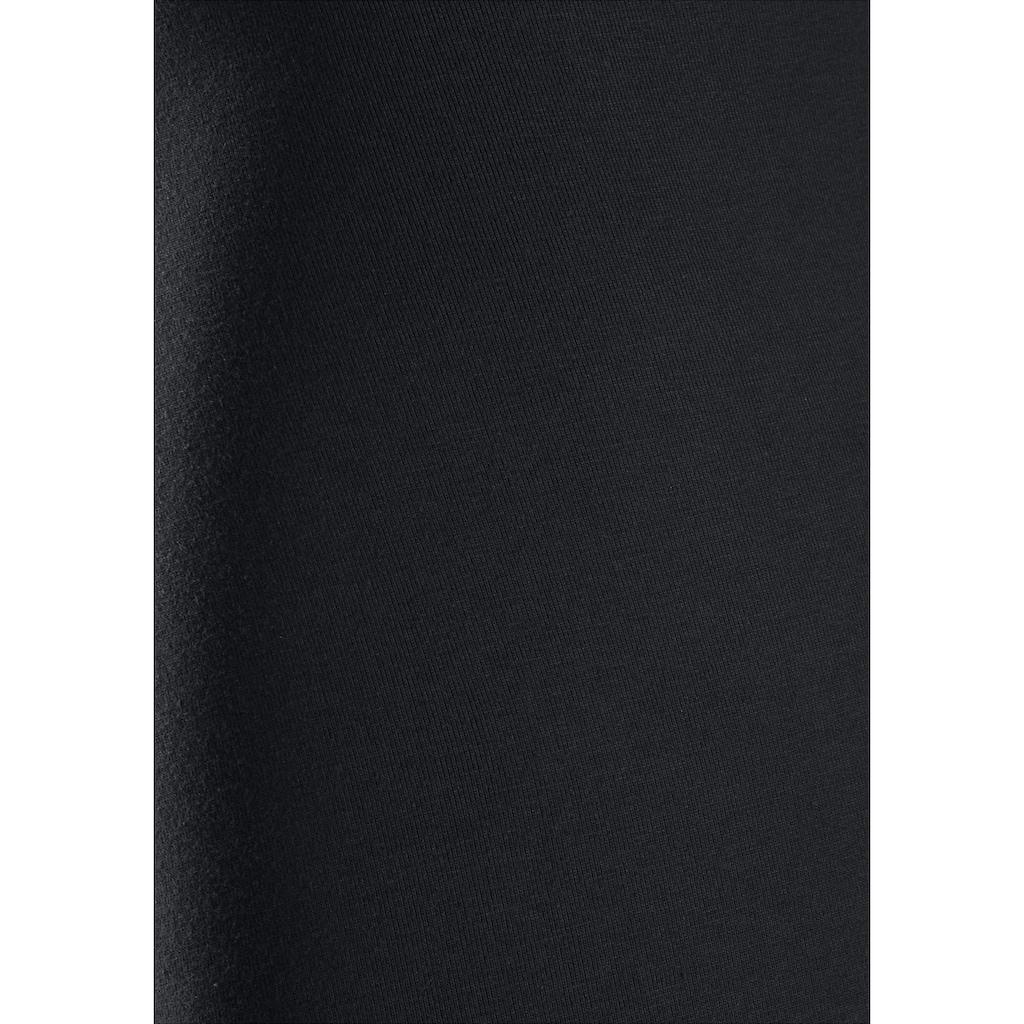 Calvin Klein Langer Boxer, (2 St.), mit Logoschriftzug am weißen Bündchen