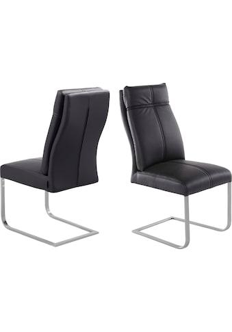 """Places of Style Esszimmerstuhl """"Luanda"""" 2er - Set, in zwei verschiedenen Bezugsvarianten, Sitzhöhe 49 cm kaufen"""