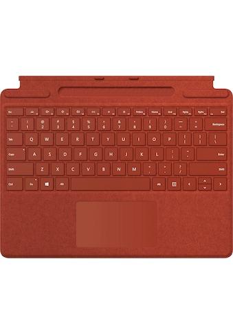 Microsoft Tastatur »Surface Pro X Signature«, (ergonomische Form) kaufen