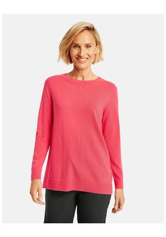 GERRY WEBER Rundhalspullover »Pullover mit Wolle« kaufen