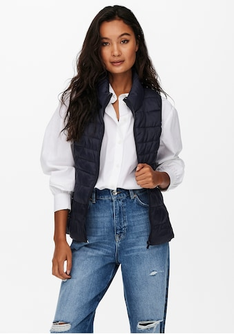 Only Steppweste »ONLNEWCLAIRE QUILTED WAISTCOAT« kaufen