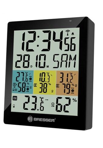 BRESSER Thermometer »Temeo Hygro Quadro DLX für 4 Messorte gleichzeitig« kaufen