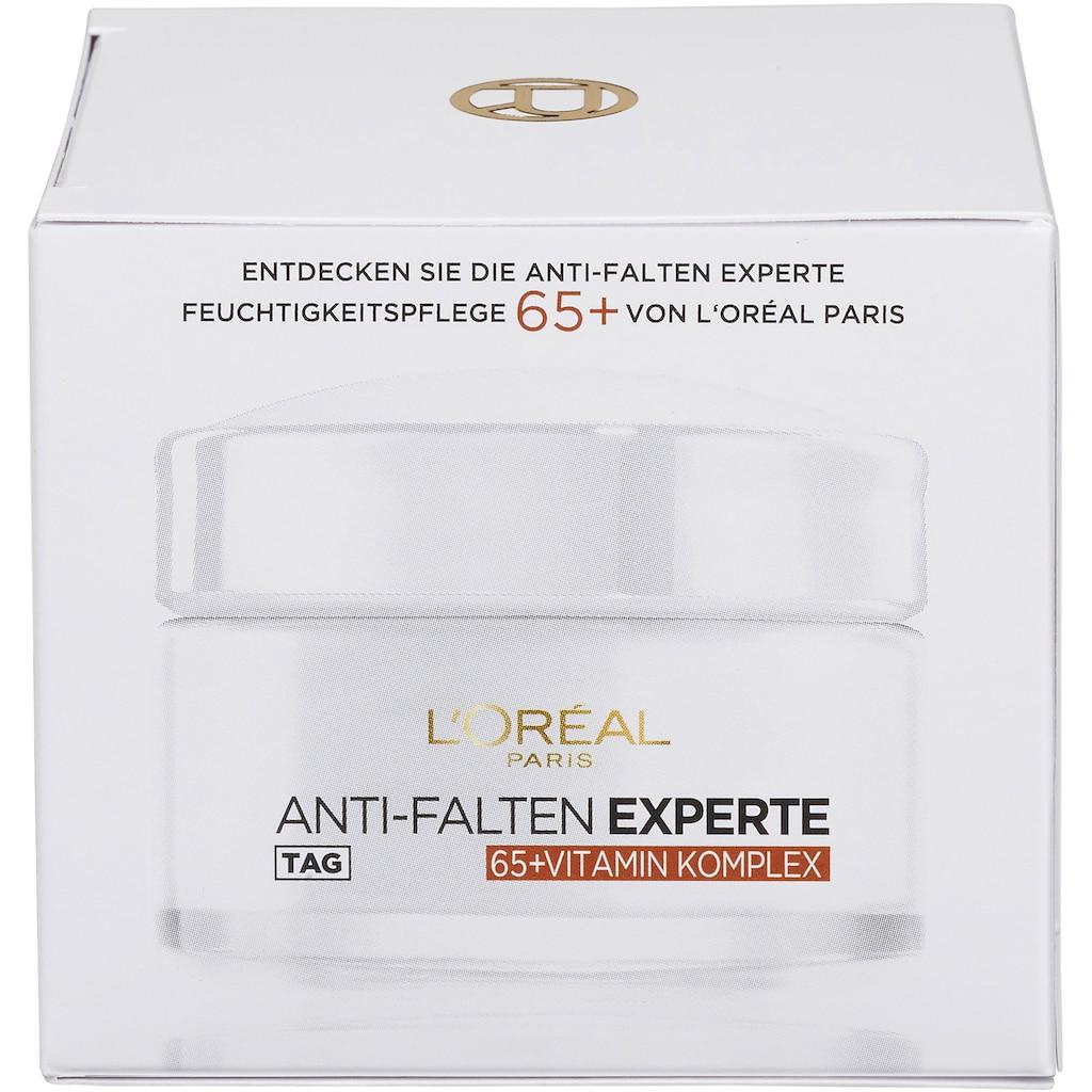 L'ORÉAL PARIS Anti-Aging-Creme »Anti-Falten Experte Feuchtigkeitspflege 65+«