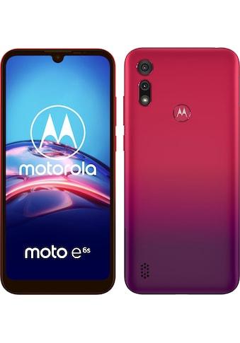Motorola moto e6s Smartphone (15,5 cm / 6,1 Zoll, 32 GB, 13 MP Kamera) kaufen