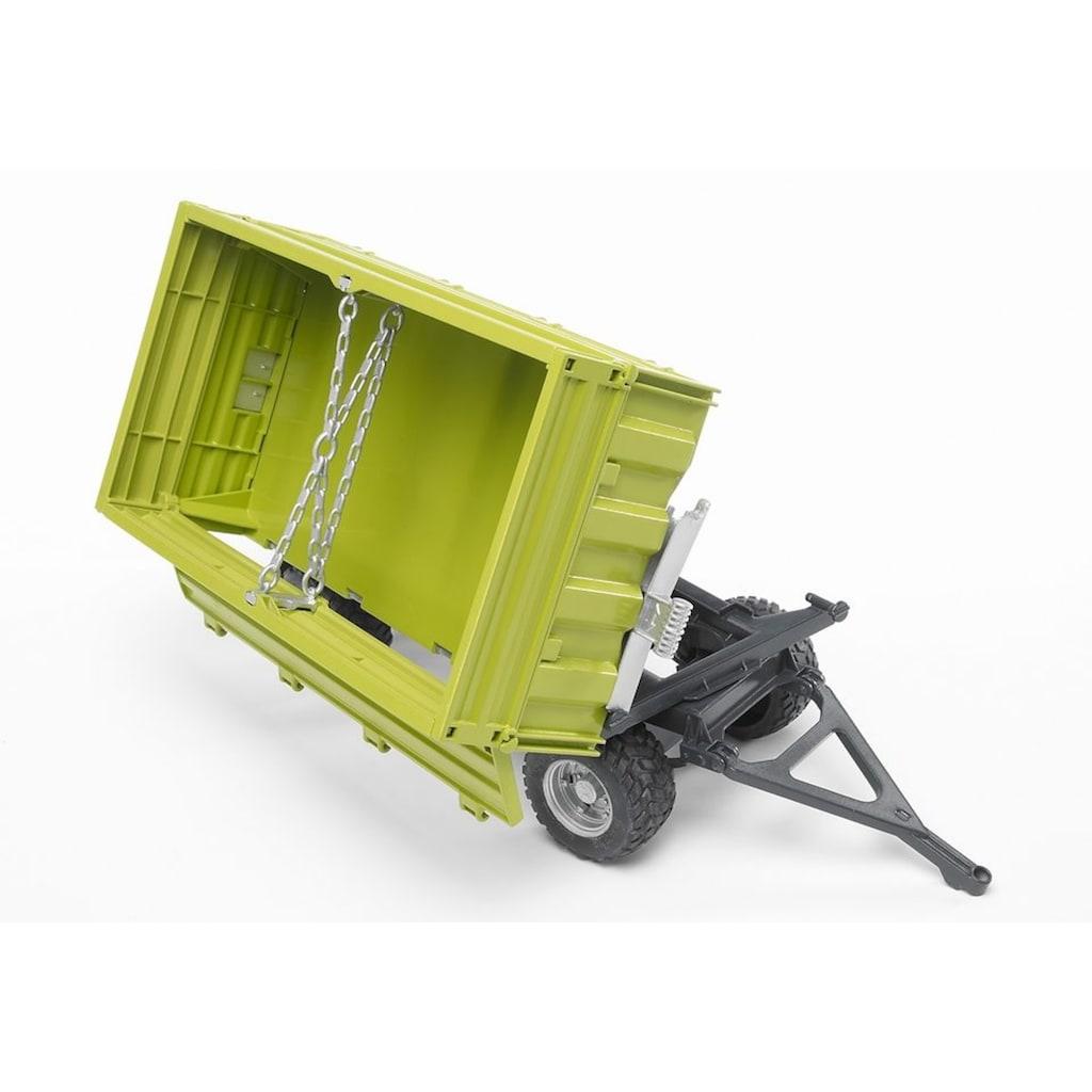 Bruder® Spielfahrzeug-Anhänger »Fliegl 3-Seitenkipper mit Aufsteckbordwand«, 02203, Made in Germany