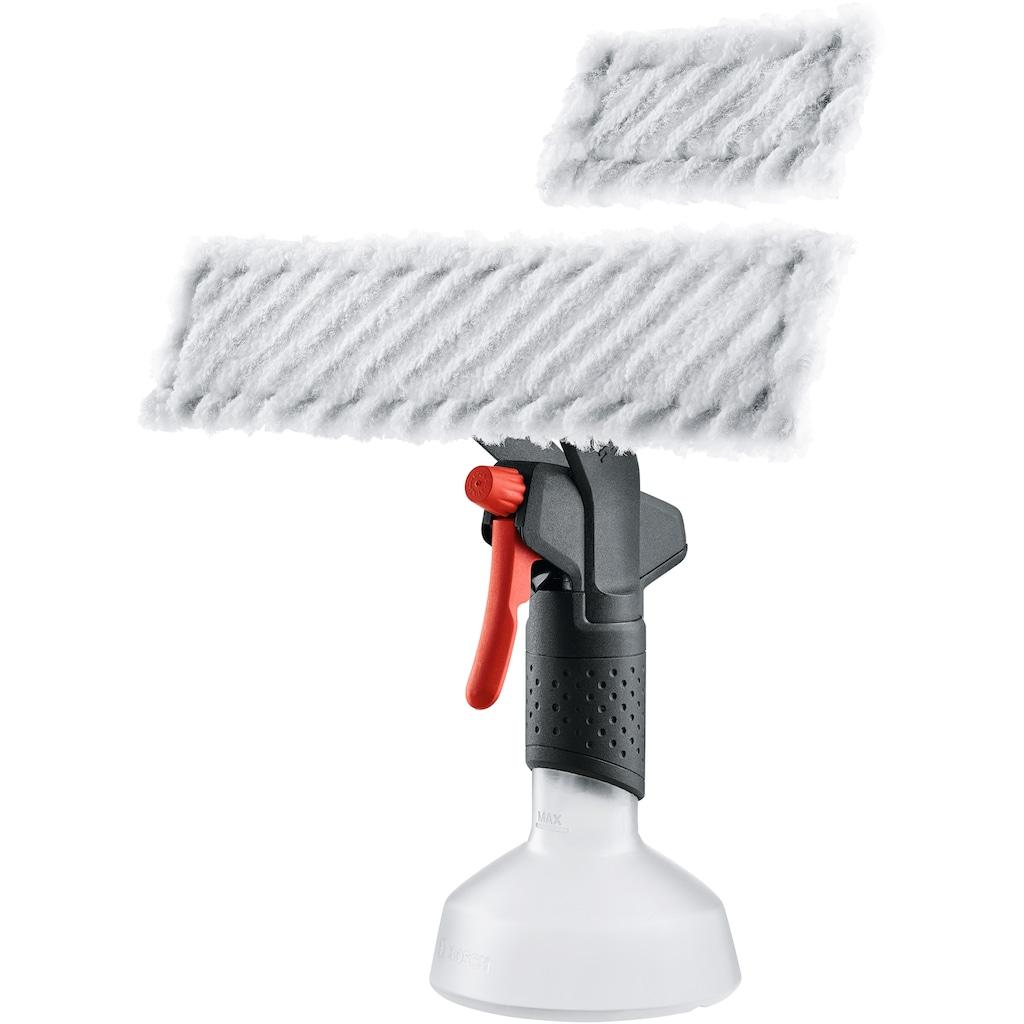 BOSCH Akku-Fenstersauger »GlassVAC«, inkl. Sprühflasche und Microfasertuch