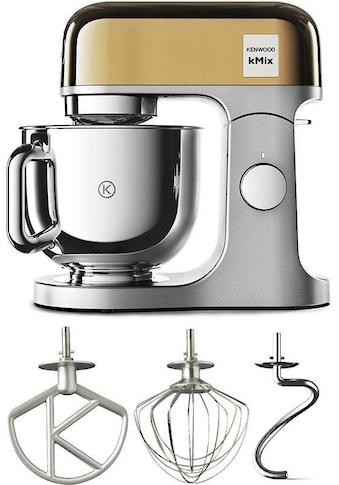 KENWOOD Küchenmaschine KMX760YG kMix Premium Edition Gold mit 3 - tlg. Pâtisserie - Set, 1000 Watt, Schüssel 5 Liter kaufen