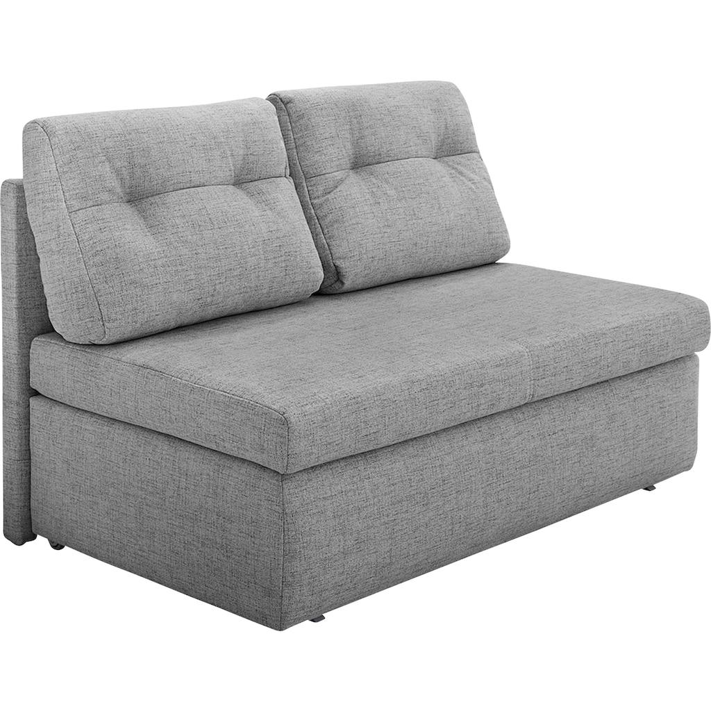 Jockenhöfer Gruppe Schlafsofa, Platzsparendes Sofa mit Gästebettfunktion und Stauraum