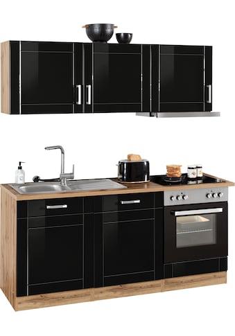 HELD MÖBEL Küchenzeile »Tinnum«, mit E-Geräten, Breite 180 cm kaufen