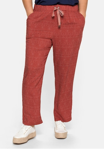 Sheego Schlupfhose, mit Gummizug und Bindeband kaufen