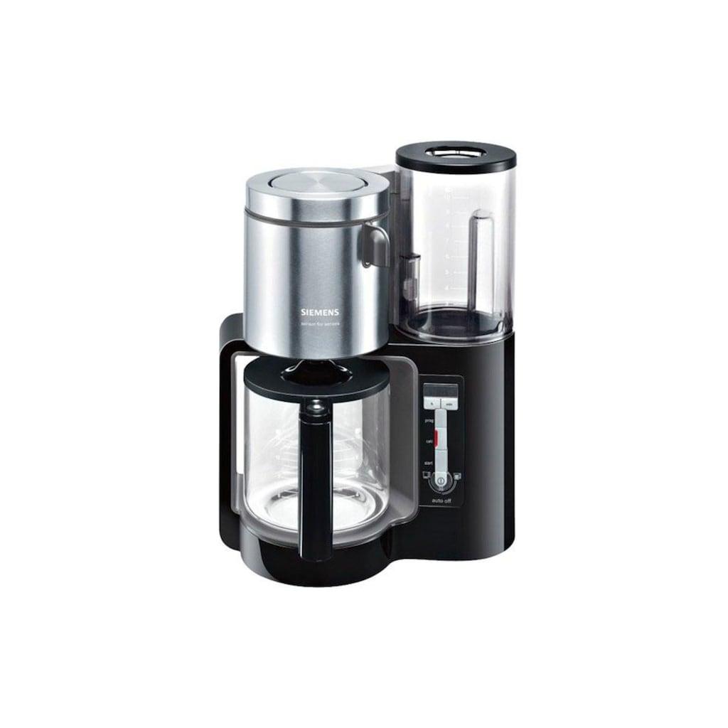 SIEMENS Filterkaffeemaschine »Sensor for Senses TC86303«, Papierfilter, 1x4, Wassertank mit Griff