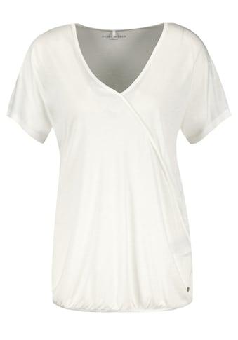 GERRY WEBER Kurzarmshirt »1/2 Arm Shirt mit Wickeleffekt« kaufen