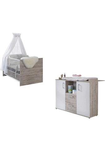arthur berndt Babymöbel-Set »Bente«, (Spar-Set, 2 St.), mit Kinderbett und... kaufen