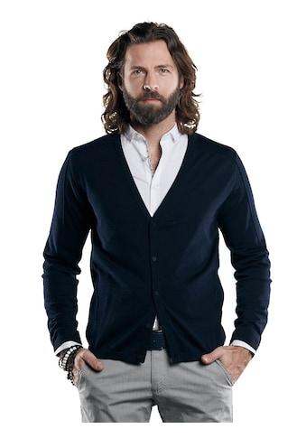 emilio adani Cardigan aus hochwertigem Pima Cotton Garn kaufen