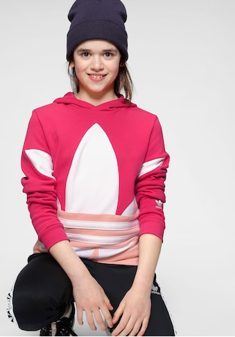 adidas Originals Kapuzensweatshirt »BIG TREFOIL HOODIE« kaufen