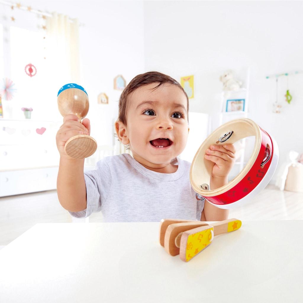 Hape Spielzeug-Musikinstrument »Junior Perkussion Set«