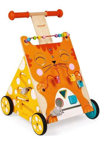 Janod Lauflernwagen »Katze - Multi-Activity«, FSC®-Holz aus gewissenhaft... kaufen