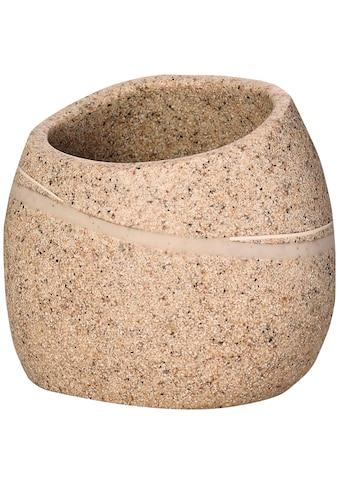 Ridder Zahnputzbecher »Little Rock«, asymmetrisch kaufen