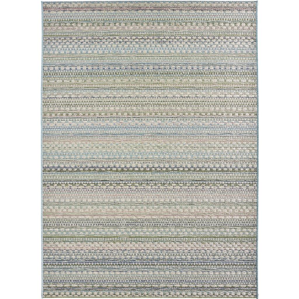 bougari Teppich »Pine«, rechteckig, 7 mm Höhe, In- und Outdoor geeignet, Wohnzimmer