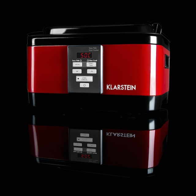 Klarstein Sous vide Garer Slow Cooker Gareinsatz 6l 550 W Edelstahl »Tastemaker«