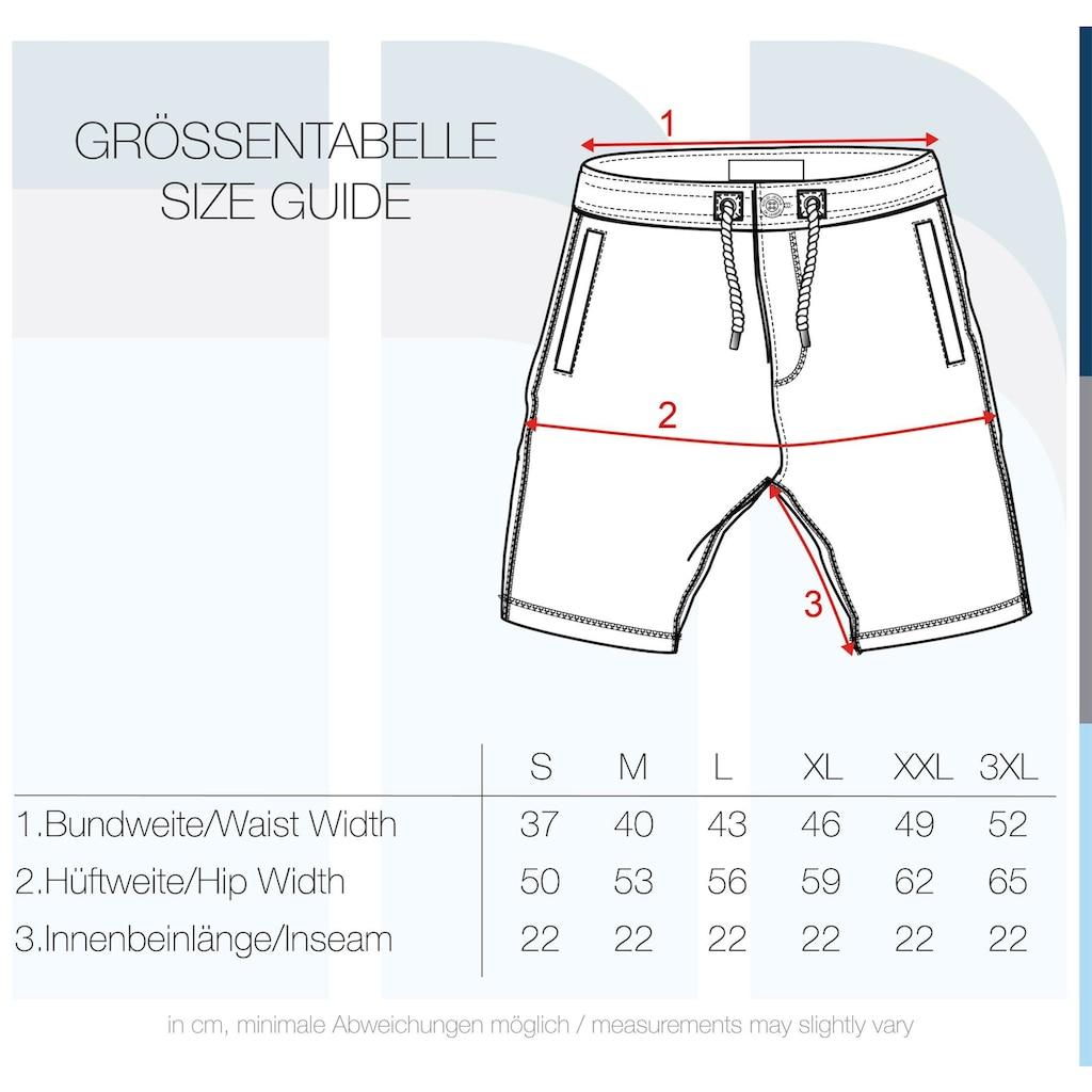 Solid Sweatshorts »TripShorts«, kurze Hose mit Taukordeln und Knopfleiste