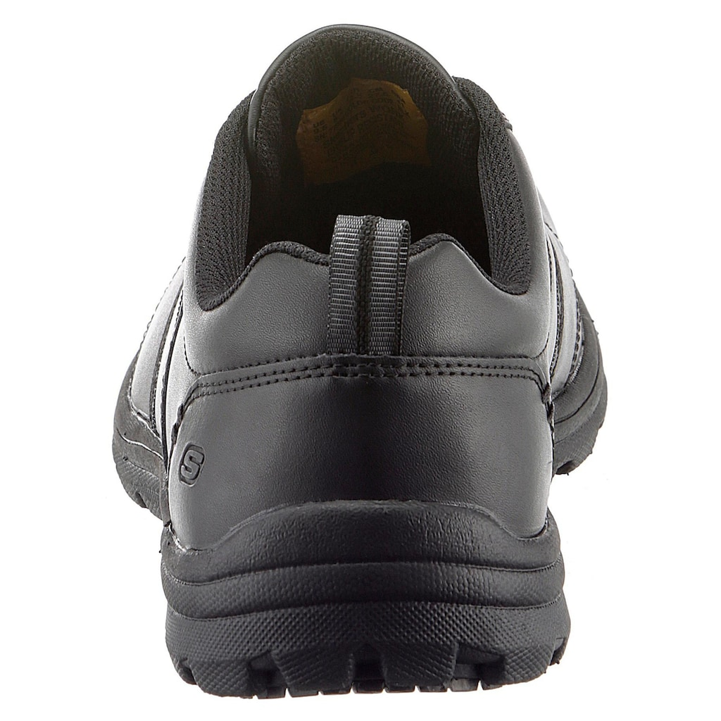 Skechers Berufsschuh »Hobbes Frat Schnürschuh«, mit rutschhemmender Laufsohle