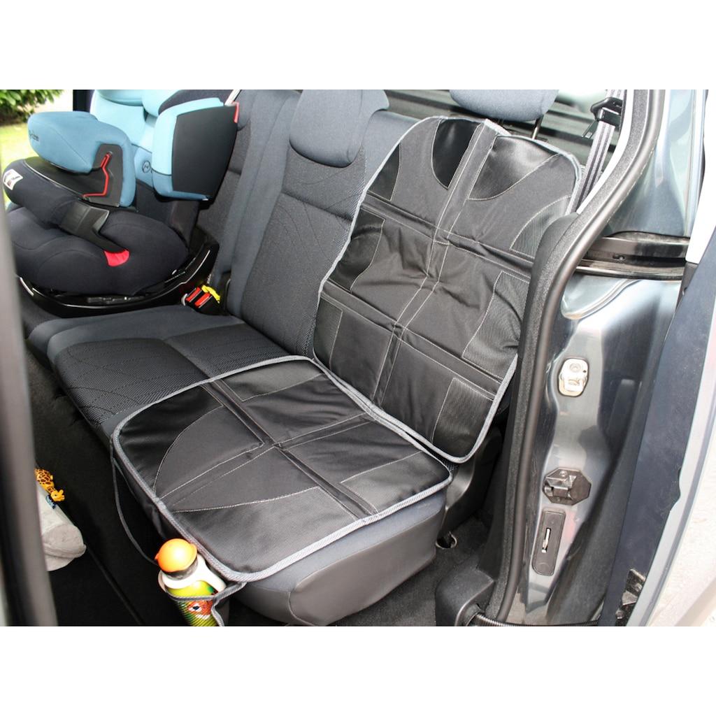 Happy Kids Autositzschutz, mit Taschen