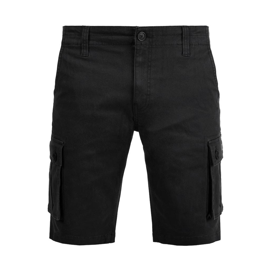 Solid Cargoshorts »Laurus«, kurze Hose mit knöpfbaren Seitentaschen