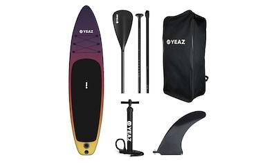 YEAZ Inflatable SUP-Board »SUNSET BEACH - EXOTREK -«, (5 tlg.), inkl. Alu-Paddel,... kaufen