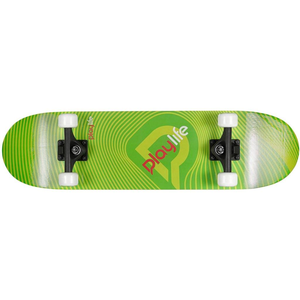 Playlife Skateboard »Illusion Green«