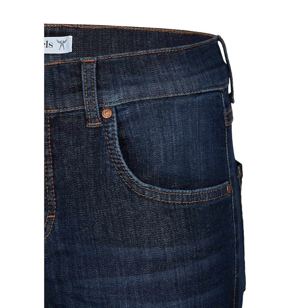 ANGELS Skinny-fit-Jeans,Skinny Ankle Zip' mit modischen Reißverschlüssen