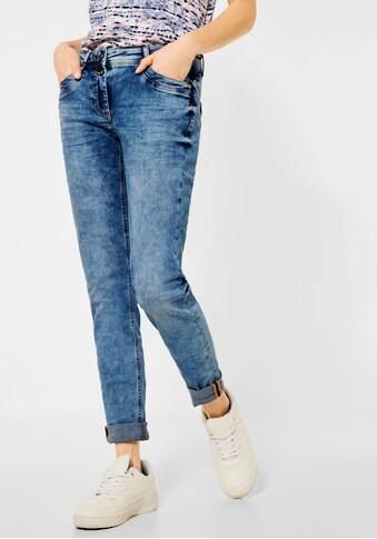 Cecil Loose-fit-Jeans »Scarlett«, in unregelmäßiger Waschung kaufen