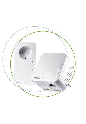 DEVOLO Magic 1 WiFi mini Starter Kit »raumübergreifendes WLAN via Stromleitung« kaufen