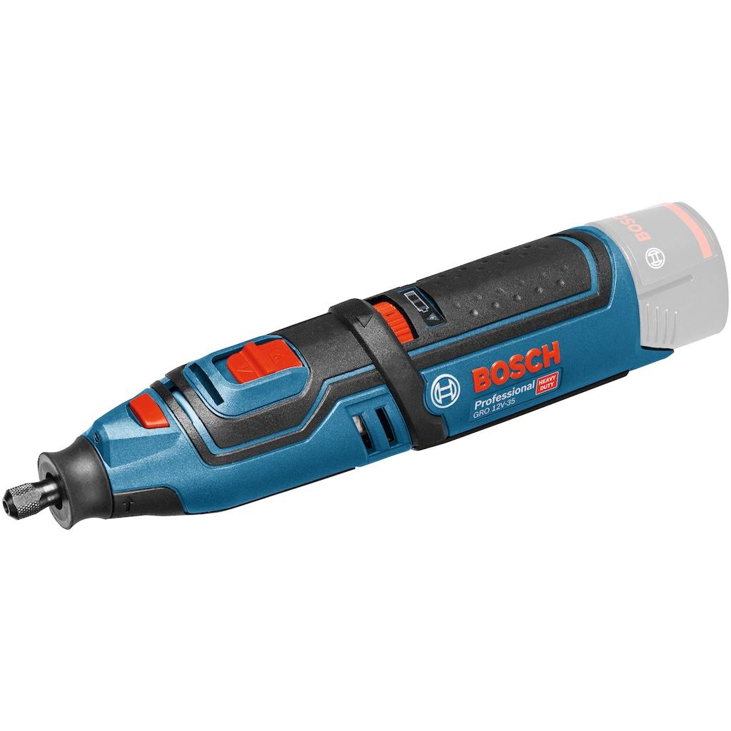 Bosch Professional Akku-Multifunktionswerkzeug »GRO 12V-35 V-LI solo«, 12 V, ohne Akku