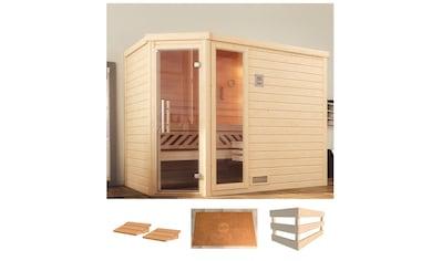weka Sauna »Turku Eck 2«, ohne Ofen kaufen