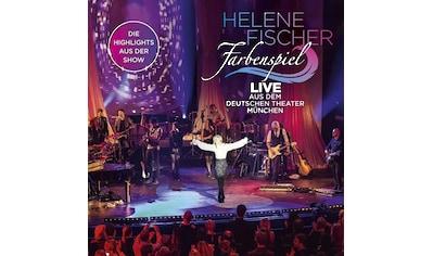 Musik - CD Farbenspiel - Live Aus Dem / Fischer,Helene, (1 CD) kaufen