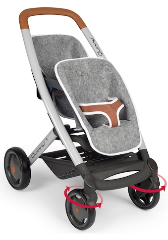 "Smoby Puppen - Zwillingsbuggy ""Quinny, grau"" kaufen"