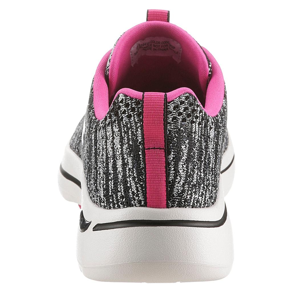 Skechers Sneaker »GO WALK ARCH FIT«, mit ArchFit-Ausstattung